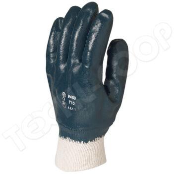 9448 mártott kék nitril kesztyű - 8
