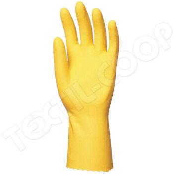 5027 háztartási gumikesztyű sárga 30 cm - S