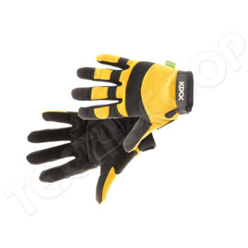 KIXX BRICK kombinált védőkesztyű sárga 10