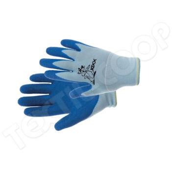 KIXX CHUNKY kesztyű nylon latex tenyér kék - 4