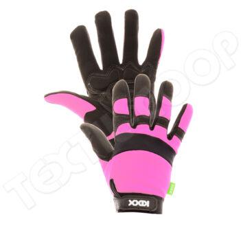 KIXX ROCKY kombinált védőkesztyű rózsaszín 7