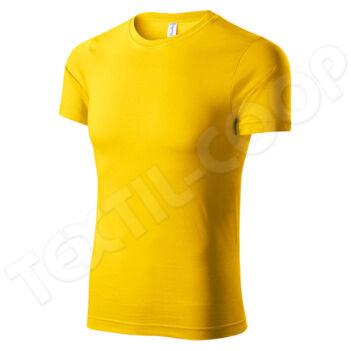 Piccolio Paint unisex póló sárga P73
