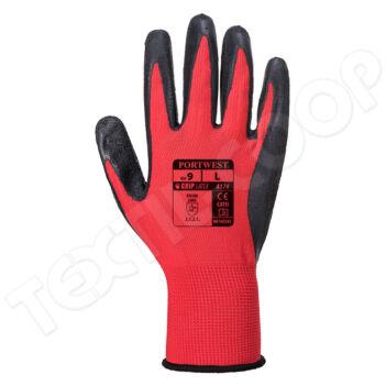 Portwest A174 Flex Grip Latex Glove kesztyű PW-A174R8RL