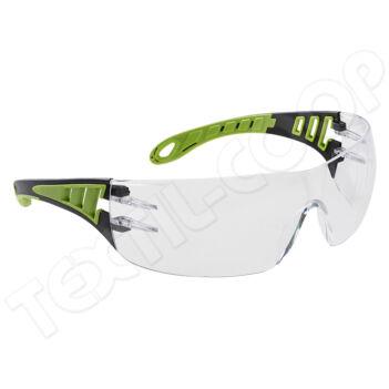 Portwest PS12 PW Tech Look védőszemüveg víztiszta PW-PS12CLR