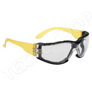 Portwest PS32 Wrap Around Plus szemüveg PW-PS32CLR