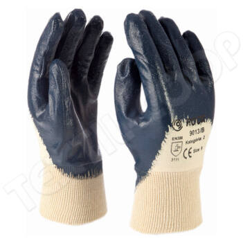Rock 9013/B nitril kesztyű kék - 9