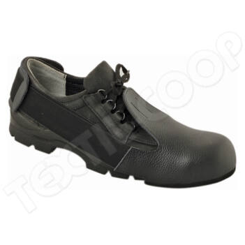 Rock acélkaplis bőr cipővédő - III