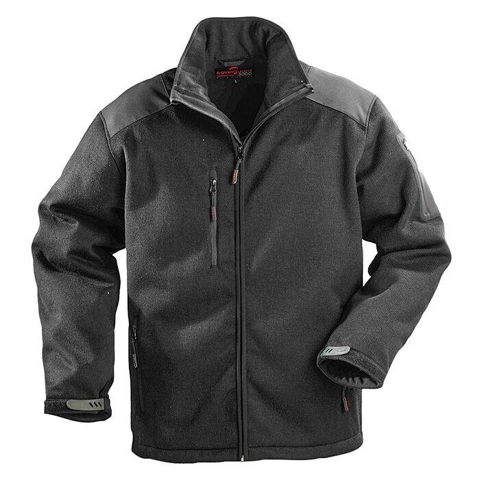 Commando fekete télikabát - 2XL - Kabátok ec2037524d