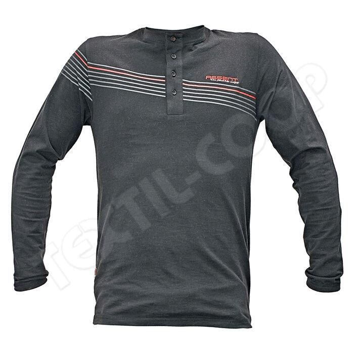 Assent SANDOWN hosszú ujjú póló fekete - S - Pólók 69b034e4d7