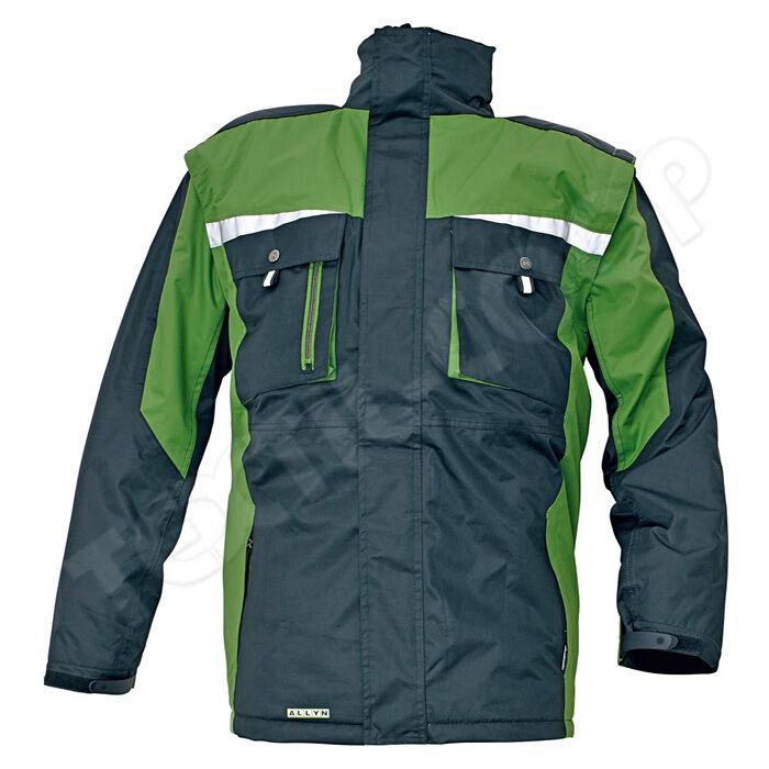 5ee87562bd ALLYN téli kabát zöld - S - Télikabát