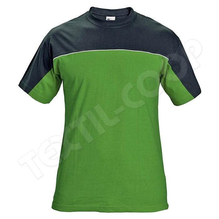 STANMORE póló zöld fekete - S - Pólók 22b3bbf7ca