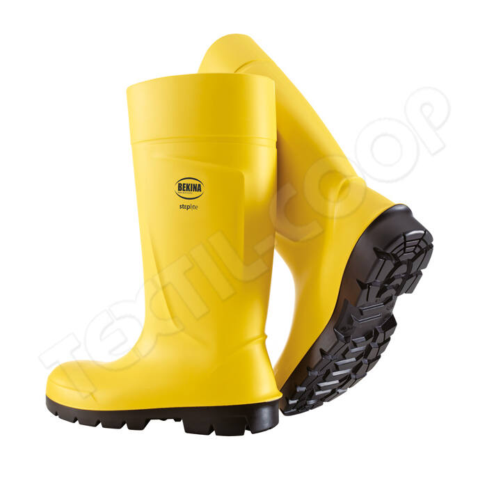 BEKINA STEPLITE S5 PU sárga csizma - 35 - PVC lábbelik fcb534caa2