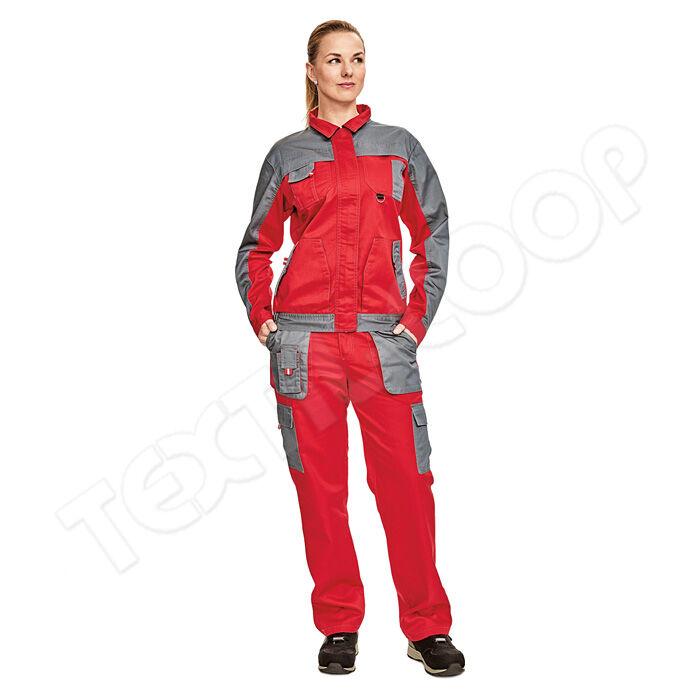 Cerva MAX EVO LADY kabát piros szürke - 34 - Munkakabát és dzseki e87ef6a44e