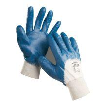 Cerva HARRIER mártott nitril kesztyű kék - 7