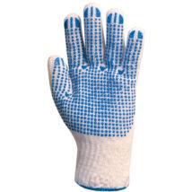 4349 textilkesztyű pes/pamut férfi - 9