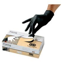 Sir Safety egyszerhasználatos fekete latex kesztyű SSY-11254