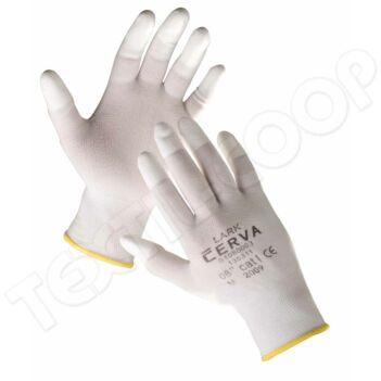 Cerva LARK ujjbegymártott nylon kesztyű XL-10