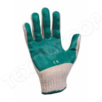 Cerva SCOTER pamut zöld PVC mártott kesztyű - 7