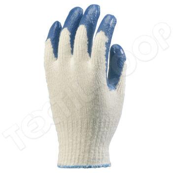 3860 mártott latex kertészkesztyű kék - 10