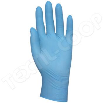 5912 nitril kék vizsgálókesztyű púderozott - XL