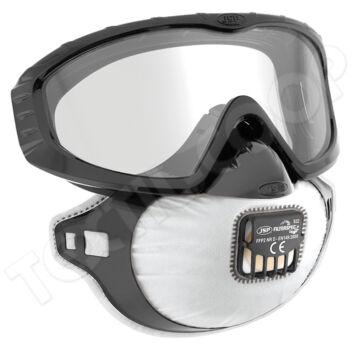 JSP Filterspec PRO porálarc+szemüveg FFP2 NR V