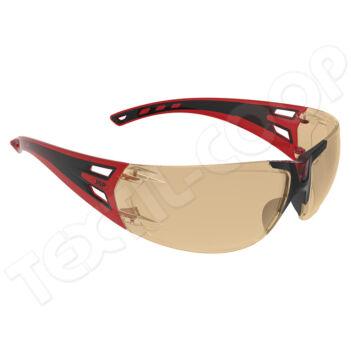 JSP Forceflex FF-3 szemüveg sárga piros keret