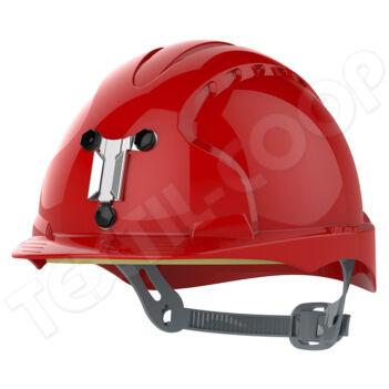 JSP Evo3 SR bányász sisak piros