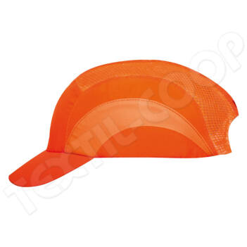 JSP Hardcap A1+ 5cm biztonsági sapka fluo narancs