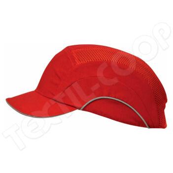 JSP Hardcap A1+ 5cm biztonsági sapka piros