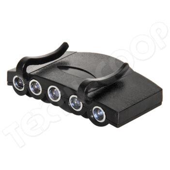 LED fejlámpa Hardcap fejvédőhöz
