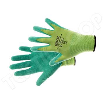 KIXX GROOVY GREEN kesztyű nylon latex zöld - 7