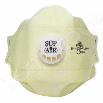 SupAir 23385 FFP3 NR D szelepes porálarc